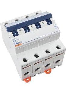 Gewiss Installatieautomaat B16 | 4 polig | GW92287
