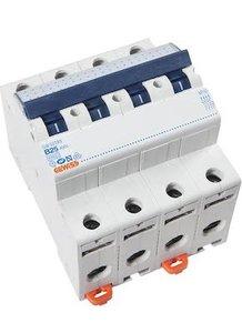 Gewiss Installatieautomaat B25   4 polig   GW92289