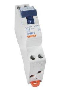 Gewiss Installatieautomaat C16 | 2 Polig | GW-90227