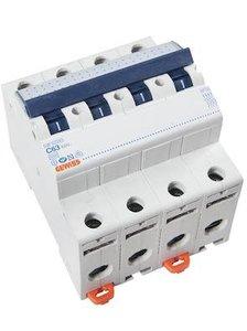 Gewiss Installatieautomaat C63   4 polig   GW-92093