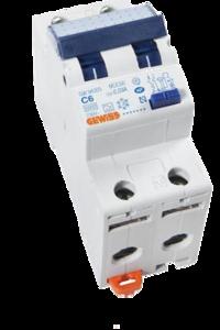 Gewiss Aardlekautomaat C6 | 2-polig | GW-94305