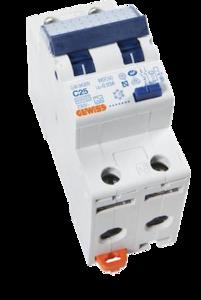 Gewiss Aardlekautomaat C25 | 2-polig | GW94309