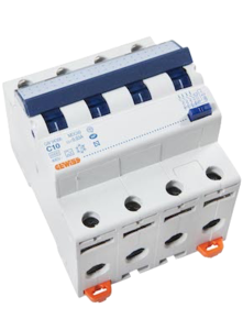 Gewiss Aardlekautomaat C10 | 4-polig | GW94366