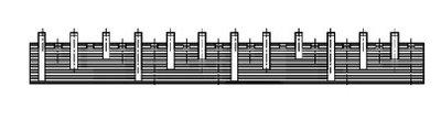 Kamrail - 3 Fase - 12x 1P+N