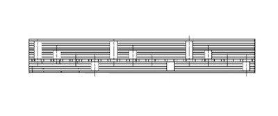 Kamrail 3 Fase 6x 2P Aardlekschakelaars/Aardlekautomaten