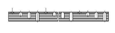 Kamrail 3 Fase - 24 module